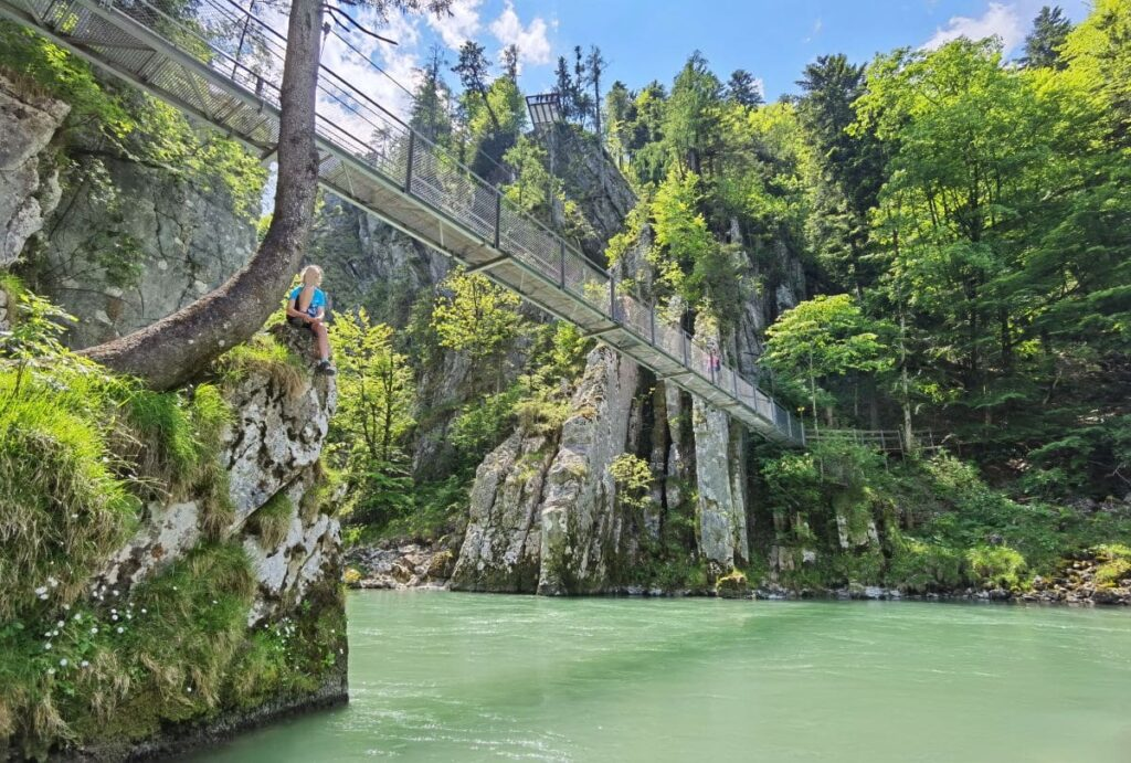 Klammen in Österreich - mit Hängebrücke udnd Aussichtsplattform